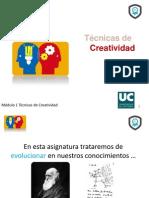 Creatividad I. Francisco Javier Cervigon Ruckauer