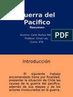 Guerra Del Pacifico Resumen 1