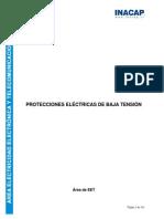 Apuntes de Protecciones Eléctricas de Baja Tensión