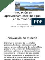 Innovación Agua en La Minería