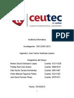Investigacion ISO 22301 2012