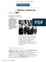 El Universal - Finanzas - Aurrerá- Walmart, Historia de Doble Dígito