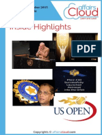 Current Affairs September PDF Capsule 2015 by AffairsCloud