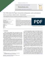 TGA–FTIR Study of the Vapors Released by Triethylamine–Acetic Acid Mixtures 2012