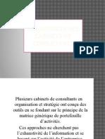 Les matrices des cabinets de consultants.pptx