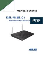 ASUS Dsl n12e c1 Manual.