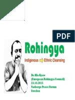 Rohingya the Future Looks Grim (1) [Compatibility Mode]