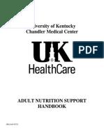 Adult Nutrition Support Handbook