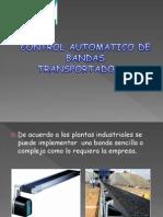 Control Automatico de Una Banda Transportadora