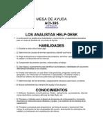 Evaluacion de HelpDesk