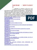 Saint Augustin - De la   Trinité (De trinitate) - Livre Cinquième Réfutation Des Ariens