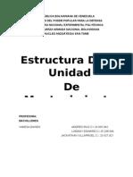 Estructura de La Unidad de Mantenimiento