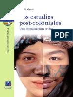 Los Estudios Post-coloniales. Una Introducción Crítica - Mohamed Omar, Sidi
