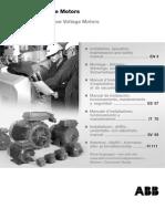 Motores de Baja Tensión ABB