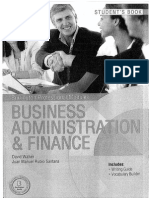 Business administration & finance (en blanco y negro)