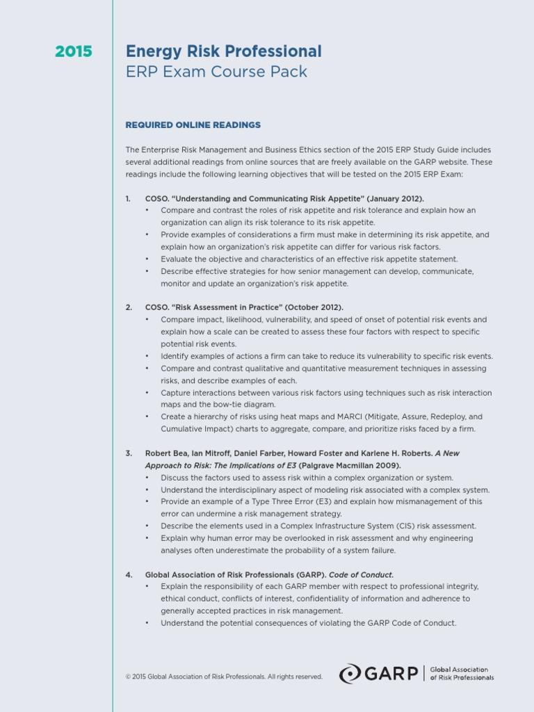 Coso 2016 enterprise risk management aligning risk with strategy - Enterprise Risk Management And Business Ethics Enterprise Risk Management Risk