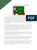 13 Kelemahan Guru Dalam Mengajar.docx