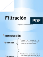 Presentación de Filtración