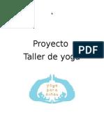 Proyecto Taller de Yoga