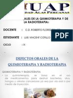 Defectos Orales de Quimio y Radioterapia