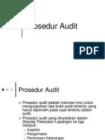 Procedures basic of audit