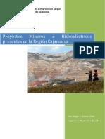 Informe - Proyectos Mineros e Hidroeléctricos presentes en la Región Cajamarca.pdf
