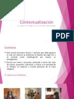 Contextualización Lazarillo de Tormes