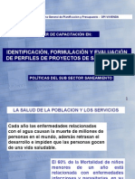 Politica Sector Saneamiento Hvca 01Ago07