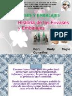 Historia Del Envase y Embalaje
