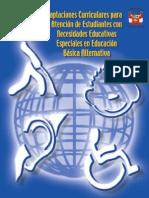 Manual de Adaptaciones Curriculares Para AEN