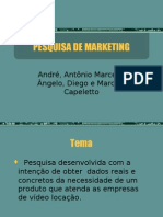 Pesquisa Marketing RELOAD00