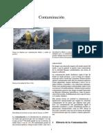 Contaminación y Sus Efectos Adversos