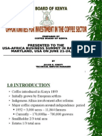 The Coffee Sector Presentation - Kenya