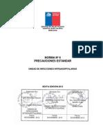 6 Norma Precauciones Estandar 6 Ed 2014