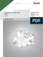 Axial Piston Pump Variable Displacement Bosch Rexroth A4VG 1421398966