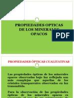 COLOR DE MINERALES OPACOS