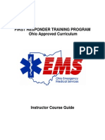 Ems First Responder Curriculum