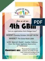 4th GBM Flyer