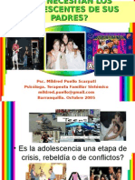 QUE NECESITAN LOS ADOLESCENTES DE SUS PADRES.ppt