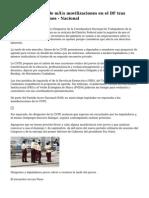 La CNTE advierte de más movilizaciones en el DF tras reunión en Los Pinos - Nacional