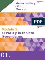 Taller Formación de Formadores PIAD - Módulo 1