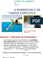 Momentum - Fuerza Especifica