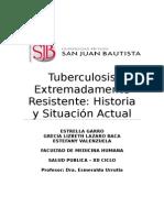 Tuberculosis Extremadamente Resistente Manchay Salud Pblica