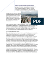 Desarrollo Histórico Ciudad de Panama