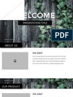 Best Powerpoint - Nature Template 1
