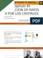 CRISTALOGRAFIA CAP. 12 DIFRACCION DE RAYOS X POR LOS CRISTALES.pptx