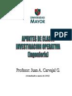Investigacion operativa