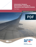 201307041012430.Indonesian Airspace Sectorisation, CONOPS and Capacity Studies Final Report