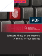 Software Piracy on the Internet a Threat to Your Security