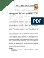 Examen Final de Psicobiologia-quispe Arellano